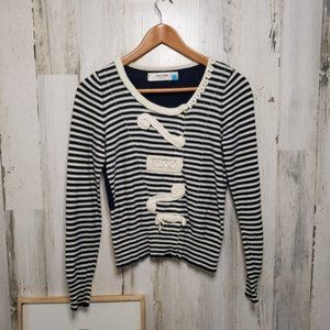Anthropologie Sparrow Loose Lines Cardigan Size SM